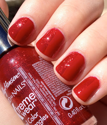 sally hansen red carpet