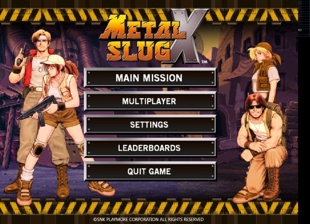 Metal Slug X PC Free Download PC Games