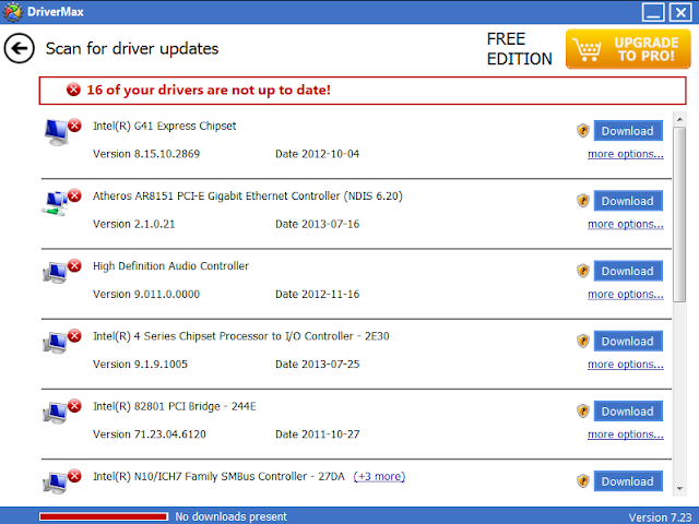 DriverMax 7.23 - Driver Information