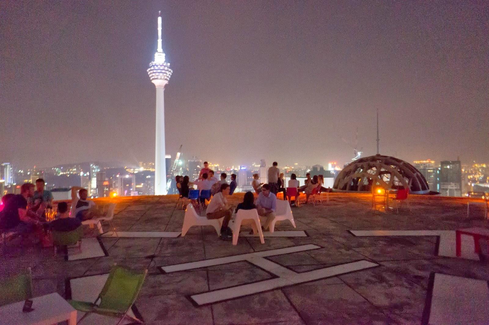 Heli Lounge Menara KH Jalan Sultan Ismail