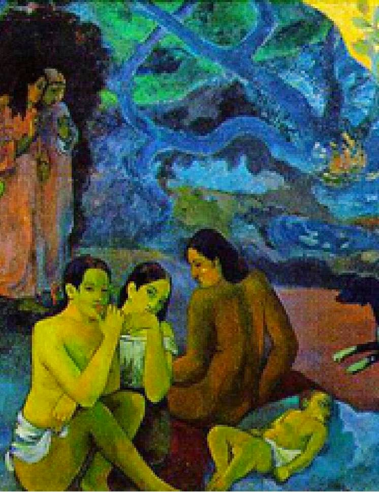 paul gauguin where do we come