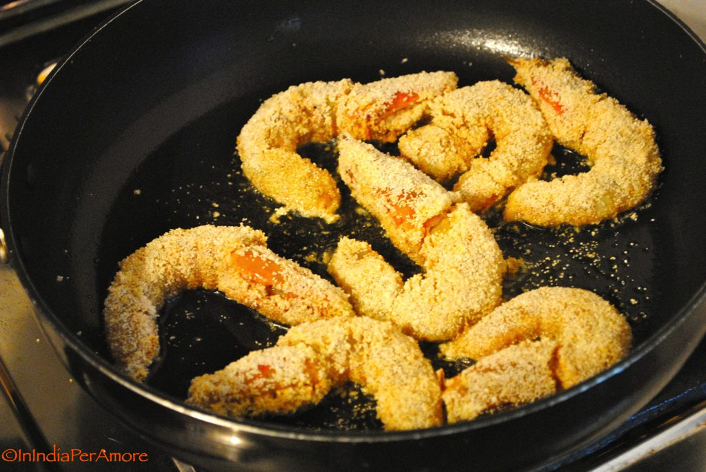 how to cook green prawns in boiling water