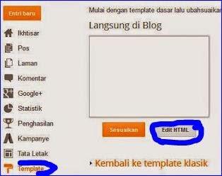 Cara mengalihkan blog ke blog yang lainya