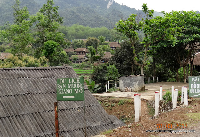 Le village Giang Mo, une destination amicale et paisible