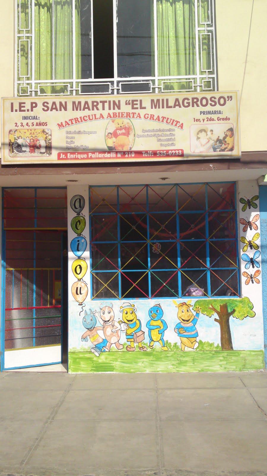 I.E.P San Martín \