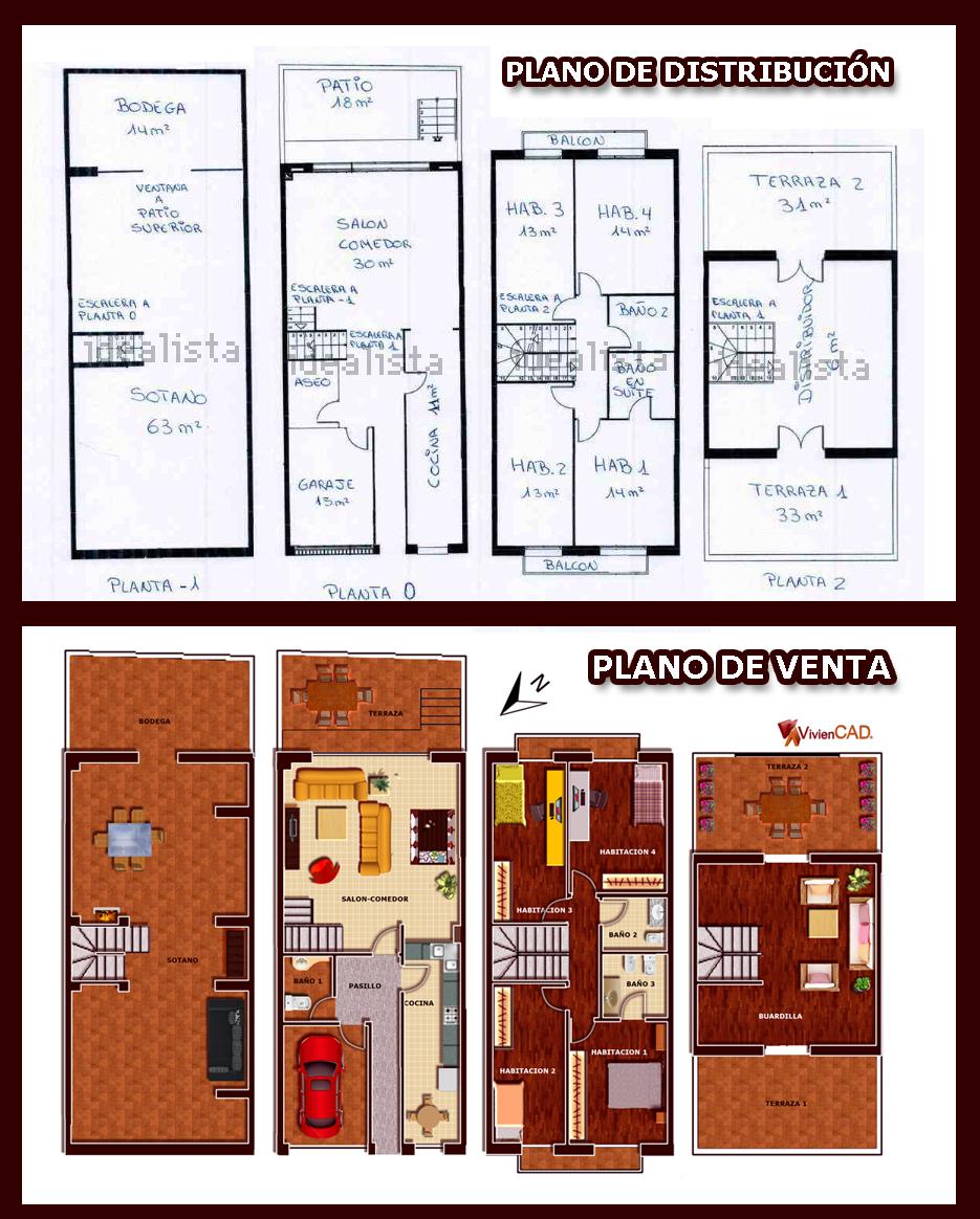 planos de venta - infografía viviencad