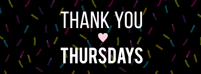 Thank you for Thursday