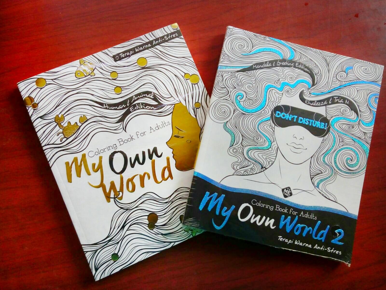 Buku My Own World 1 Dan 2 Gambar Pinjam Dari Sini