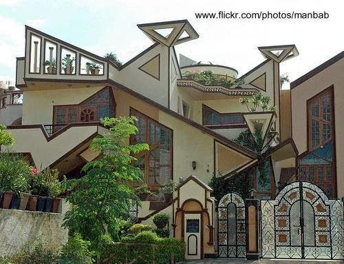 Casa de formas geométricas