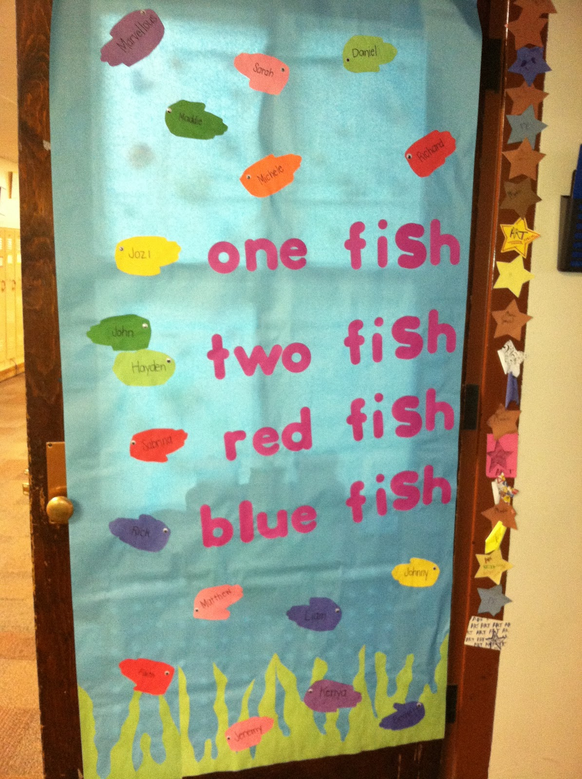Classroom Door Decoration Ideas For March ~ Seuss hausted