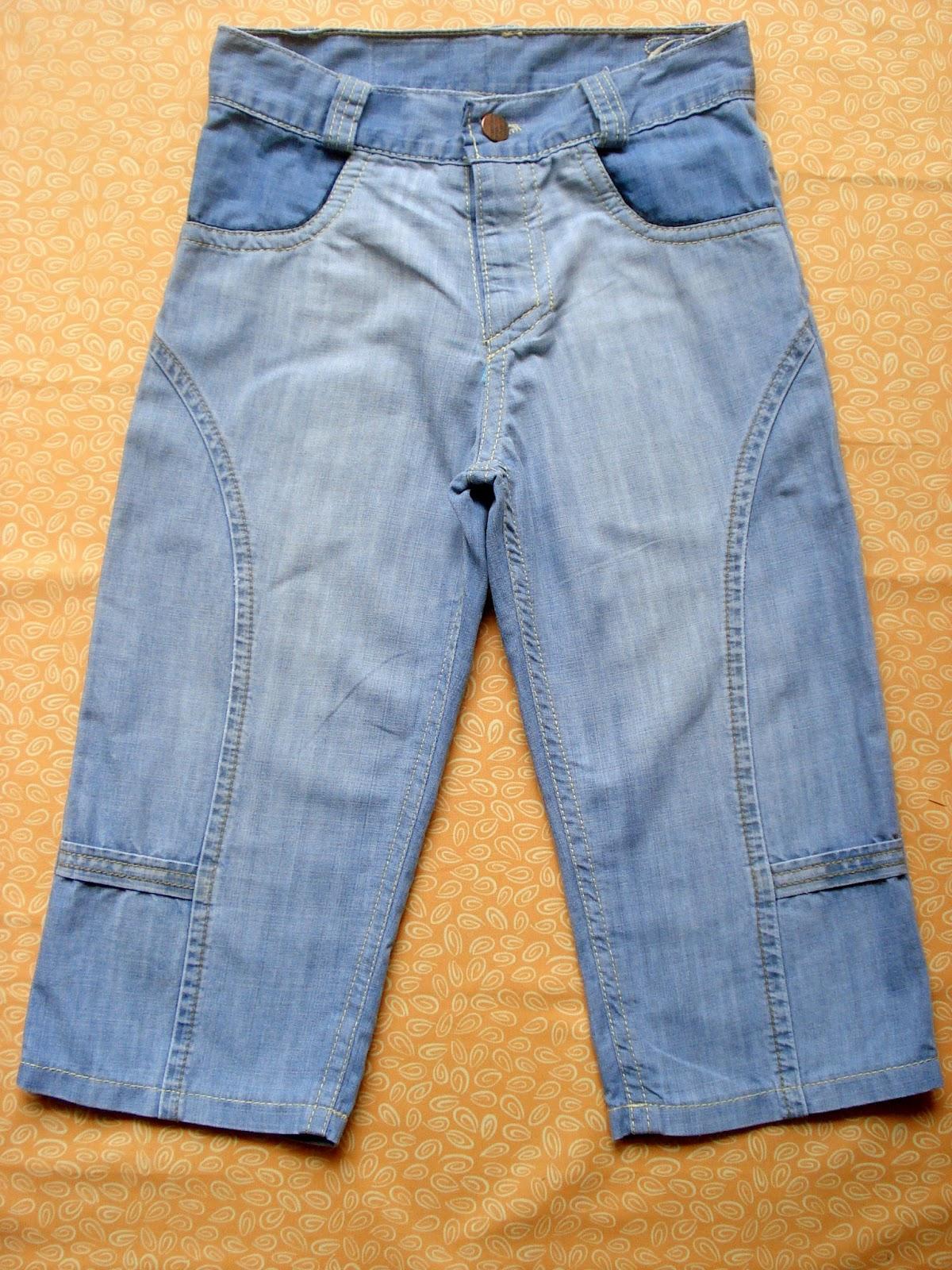 шорты из старых джинс