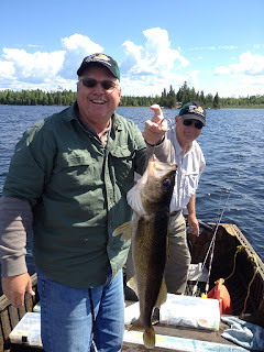 Trophy Walleye Fishing Ontario Canada