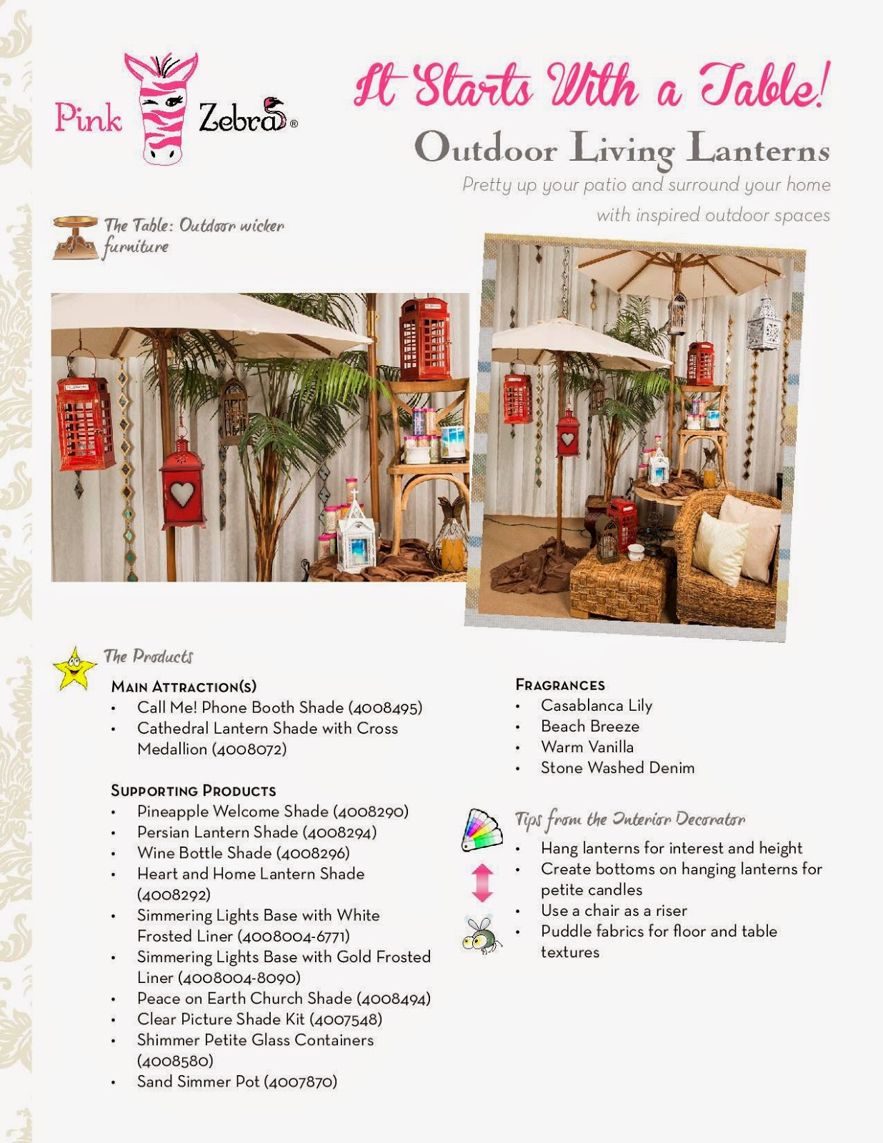 Outdoor decorating Living Lanterns image