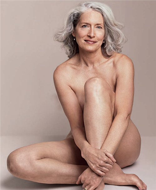 Matured nude ad for dove