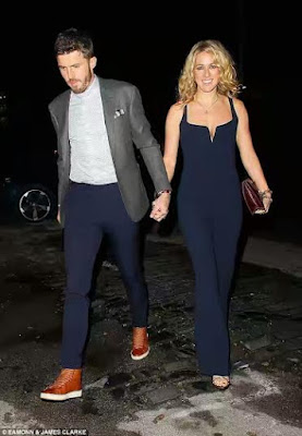 mICHAEL CARRICK AND WIFE AT MANCHESTER UNITED CHRISTMAS PARTY