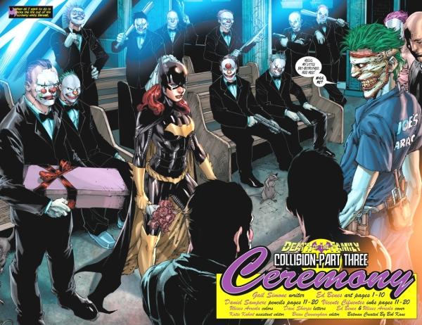 Batgirl CASA com Coringa em Batgirl #16 - Resistência Nerd