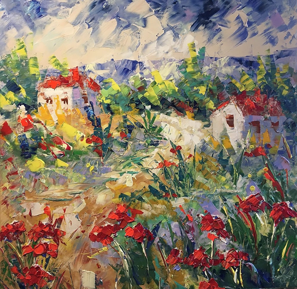 Frederic Payet Provence poppies Provence