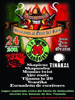 Mexicanos al Grito del Rock Tlaxcala