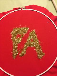Glitter Christmas DIY