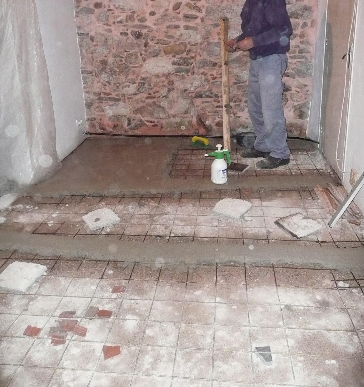 Como reformar un piso antiguo para convertirlo en un - Como hacer un piso de hormigon lustrado ...