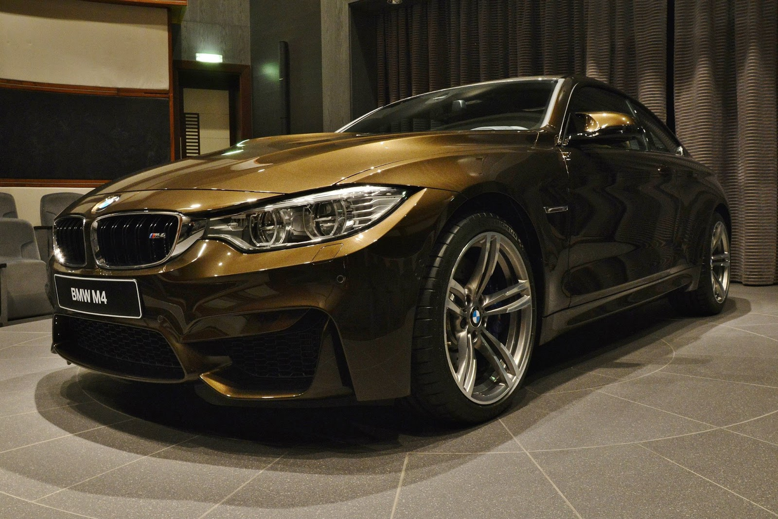 Bmw m4 individual in pyrite brown: sweet as chocolate or bitter as ...