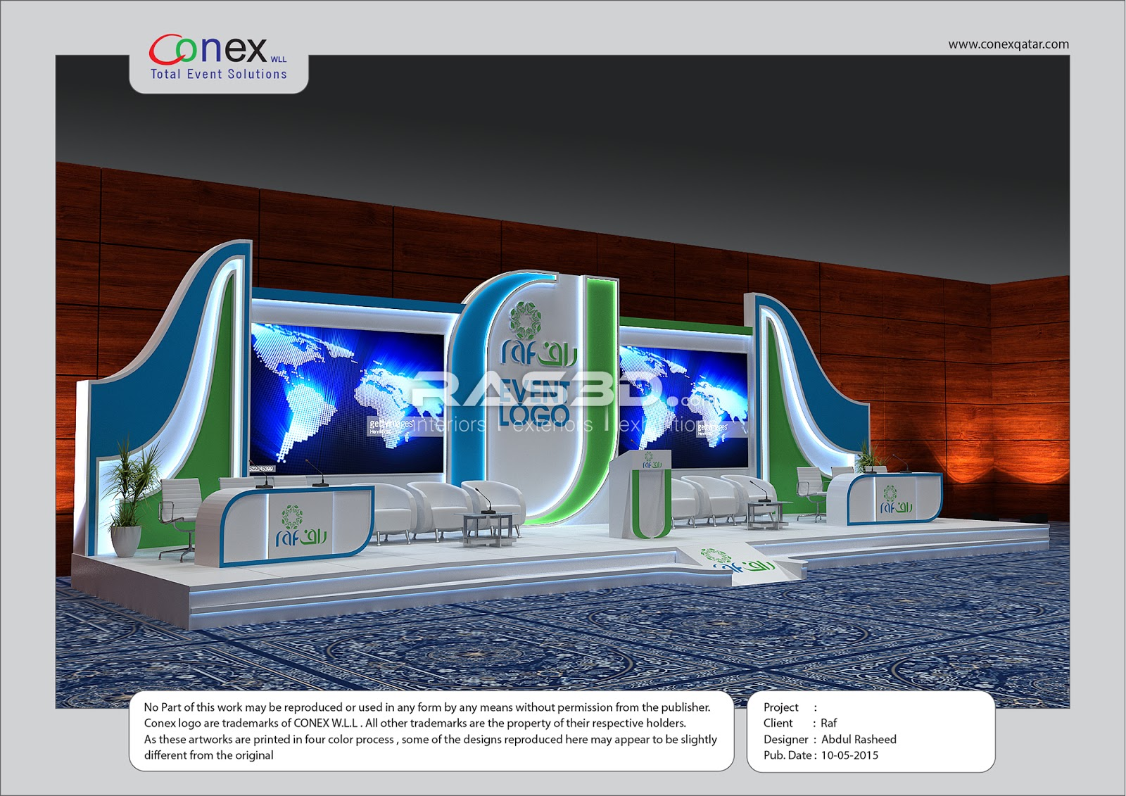 Exhibition Stand Design Mockup Free Download