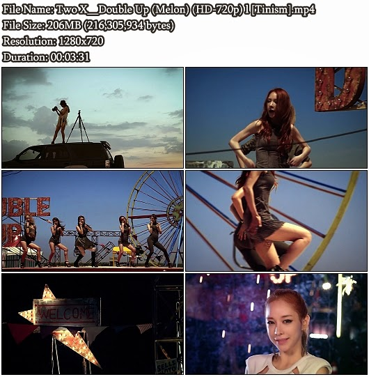 Download MV Two X - Double Up (Melon HD 720p)