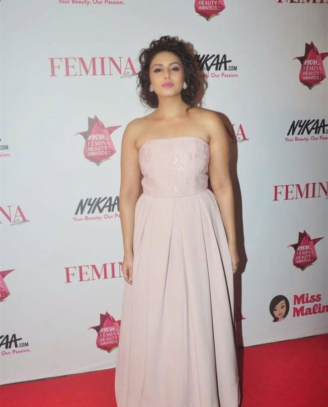 Huma Qureshi at Femina Beauty Awards 2015 Photos