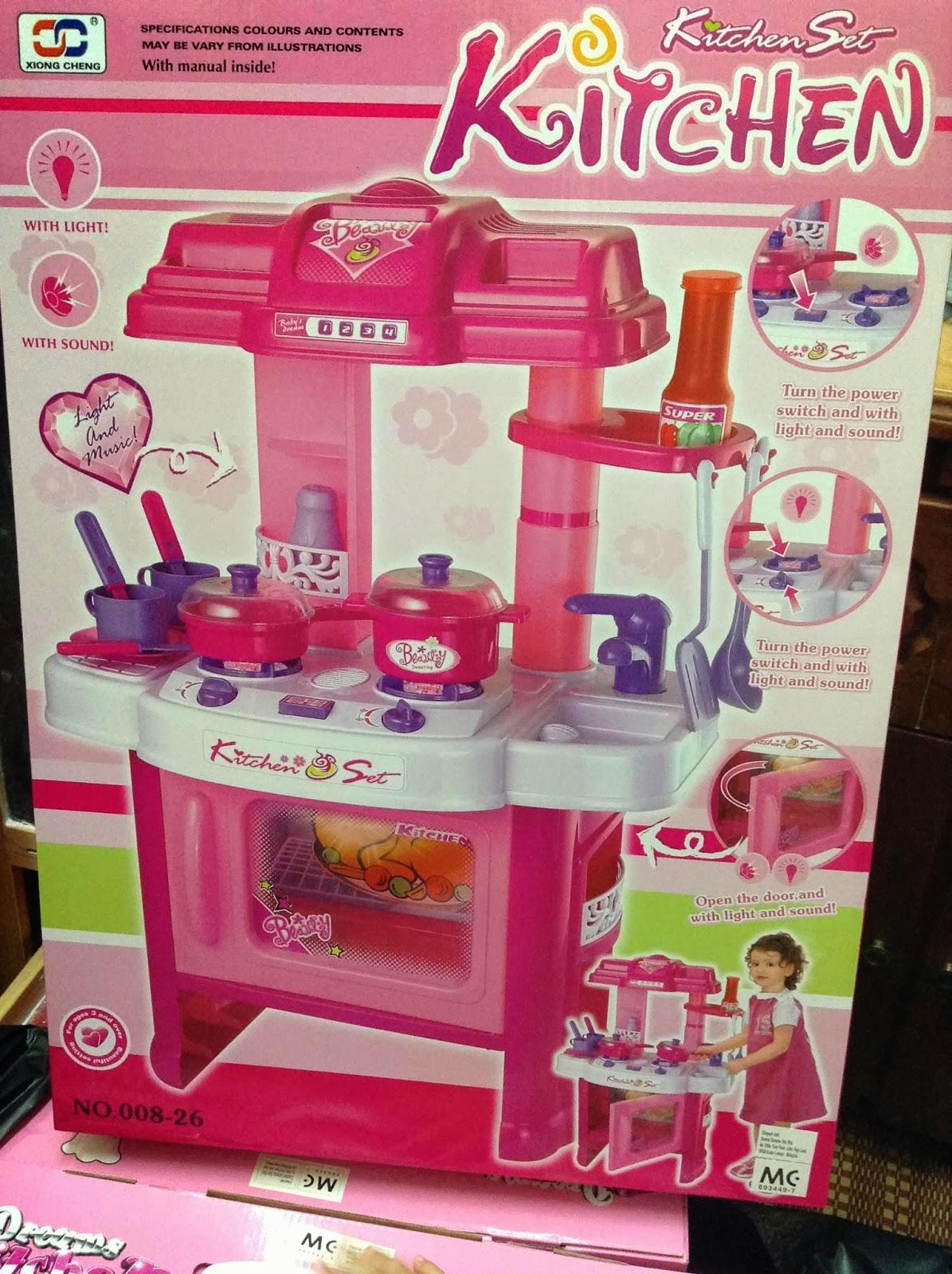 Speak without voice kitchen playset murah dan borong for Kitchen set 008 26