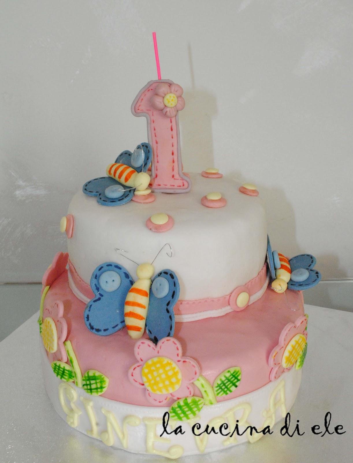 la cucina di ele torta 1 anno