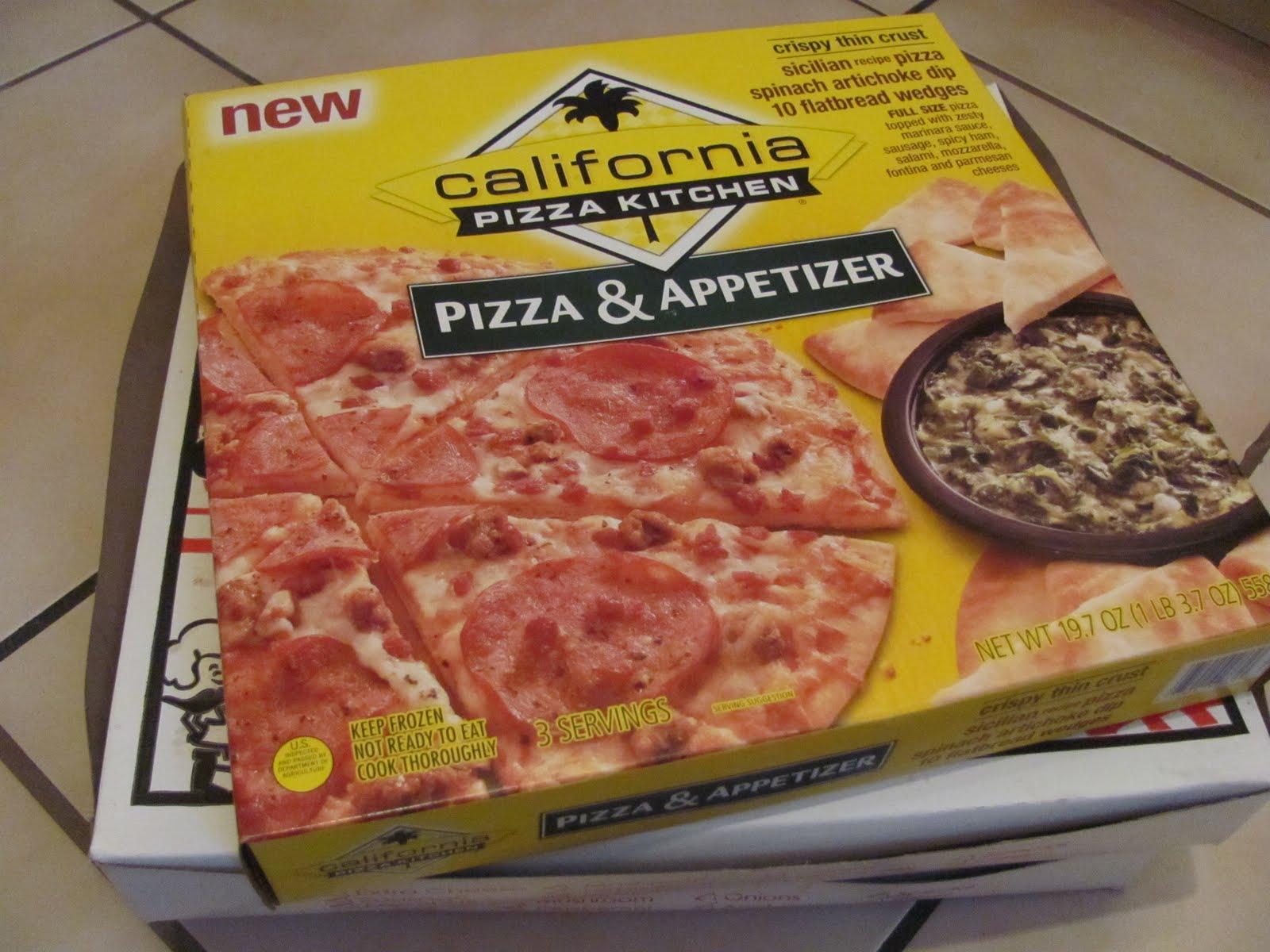 California Pizza Kitchen Pizza and Appetizer: Sicilian Pizza and ...
