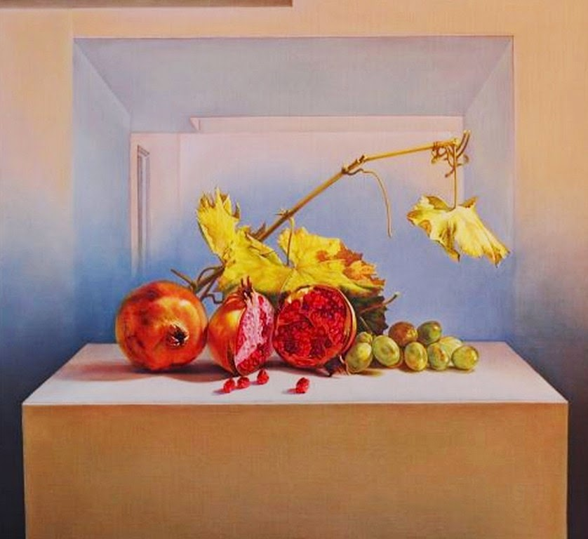 bodegones-con-frutas-y-flores-pintados-al-oleo