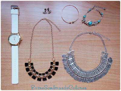 Haul / compras Aliexpress y Ebay collares, pulseras, reloj, pendientes Zara