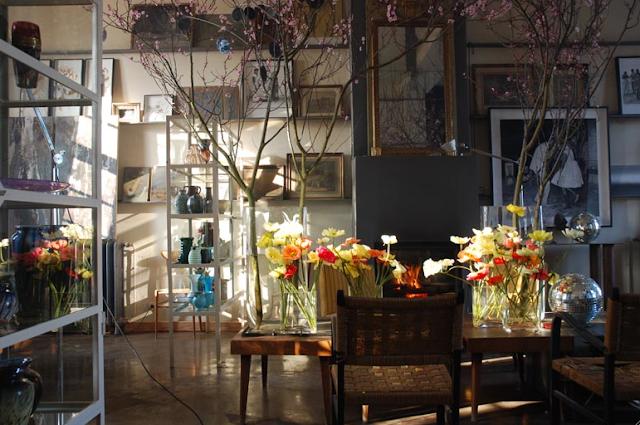 Claire Basler's Paris atelier (via nestpearls.blogspot.com.au)