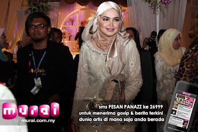 Berhijab, Penuh, Siti Nurhaliza, Tunai, Janji, Dengan, Fans, Artis Malaysia, Hiburan, Malaysia