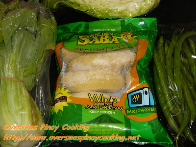 Beef Pochero - Frozen Saba Banana