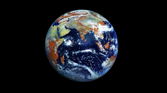 Fotografía de la Tierra con resolución de 121 megapixeles