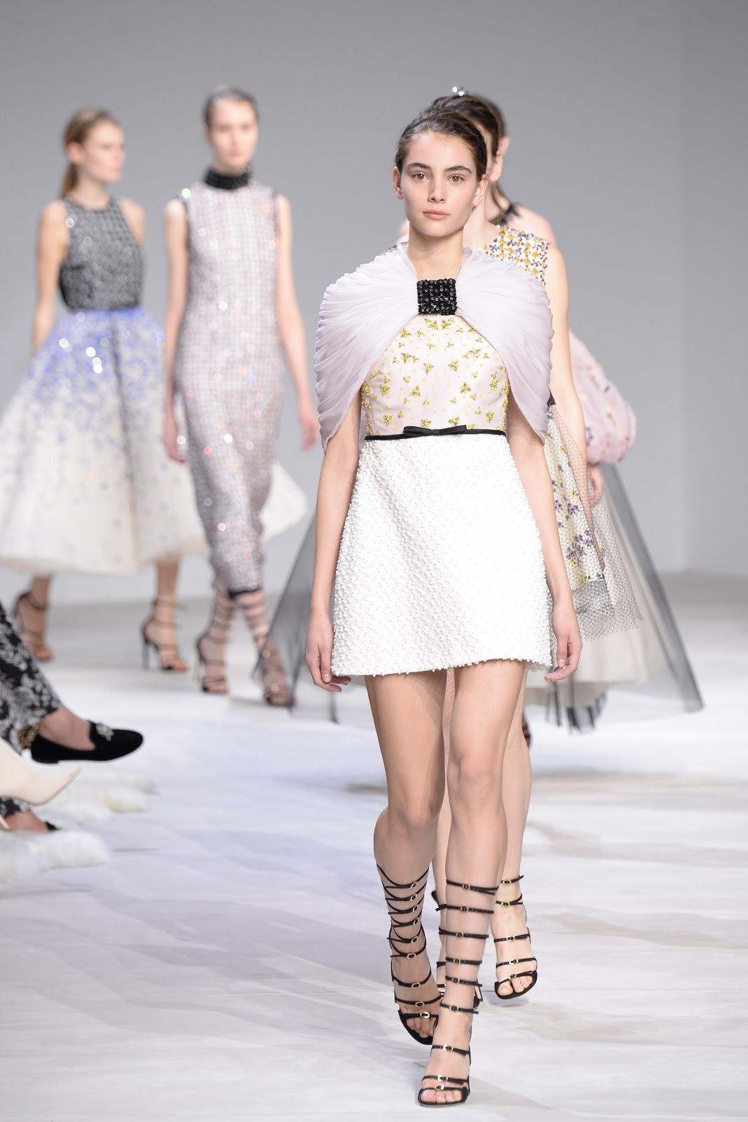 Fashion runway giambattista valli spring 2016 couture cool chic