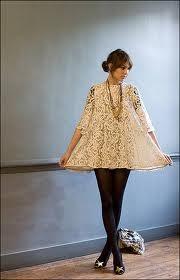 alexa chung on a short dress
