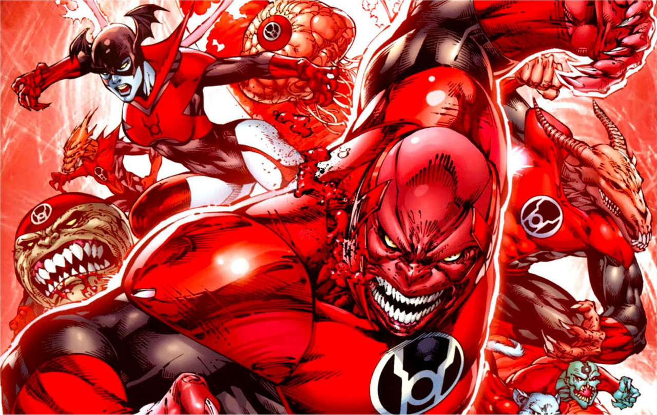 However The Red Lanterns Have Been Fairly Prominent Throughout GL Universe With Atrocious Appearing In Green Lantern And Bleez Emerald Knights