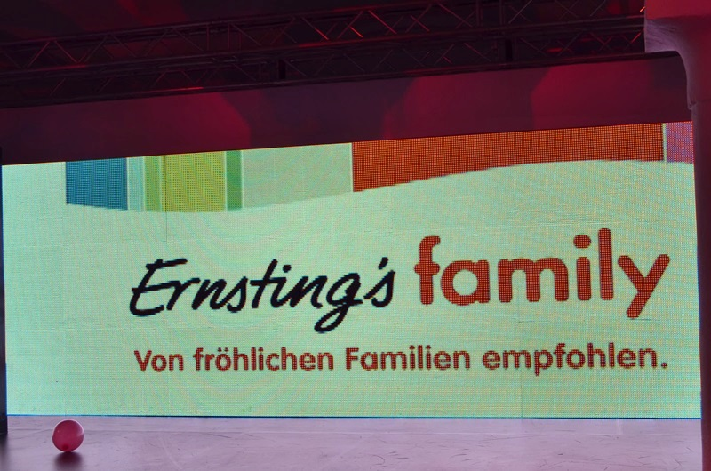 ernstings family Kollektionspreview in München