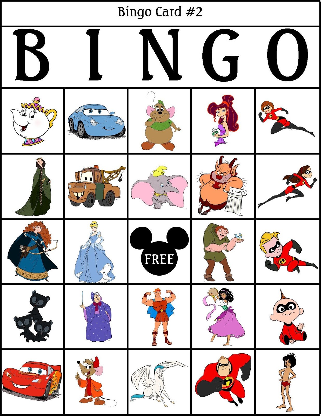 It's just a graphic of Tactueux Character Bingo Template
