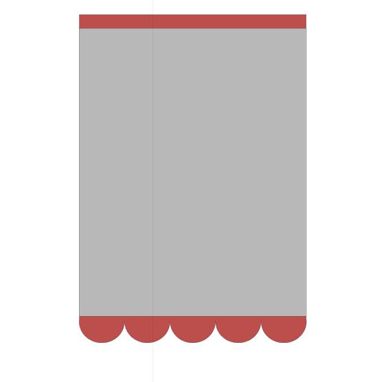 Cartão Borda Redonda