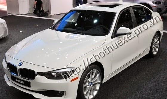 Cho thuê xe hạng sang BMW 320i