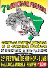 7ª Marcha da Periferia; Contra os Despejos Forçados e a Faxina Étnica.