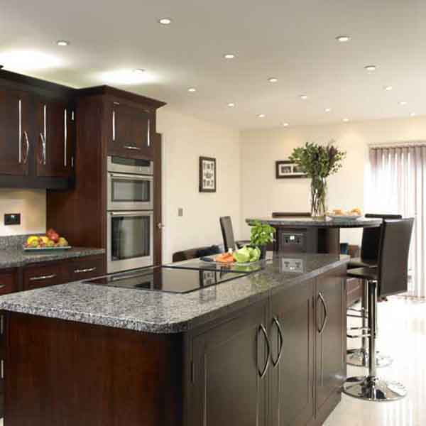 Backsplash idea for dark cabinets the kitchen design for Dark cabinet kitchen ideas