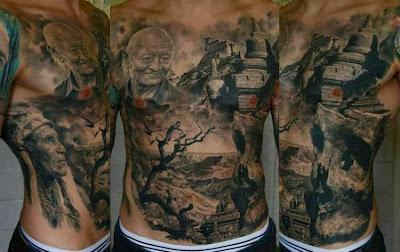 Hasil Tatto Full Body Terbaik dari Berbagai Masterpiece Dunia