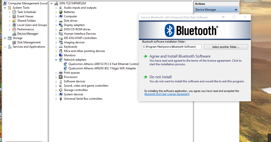 dell bluetooth software  windows 7
