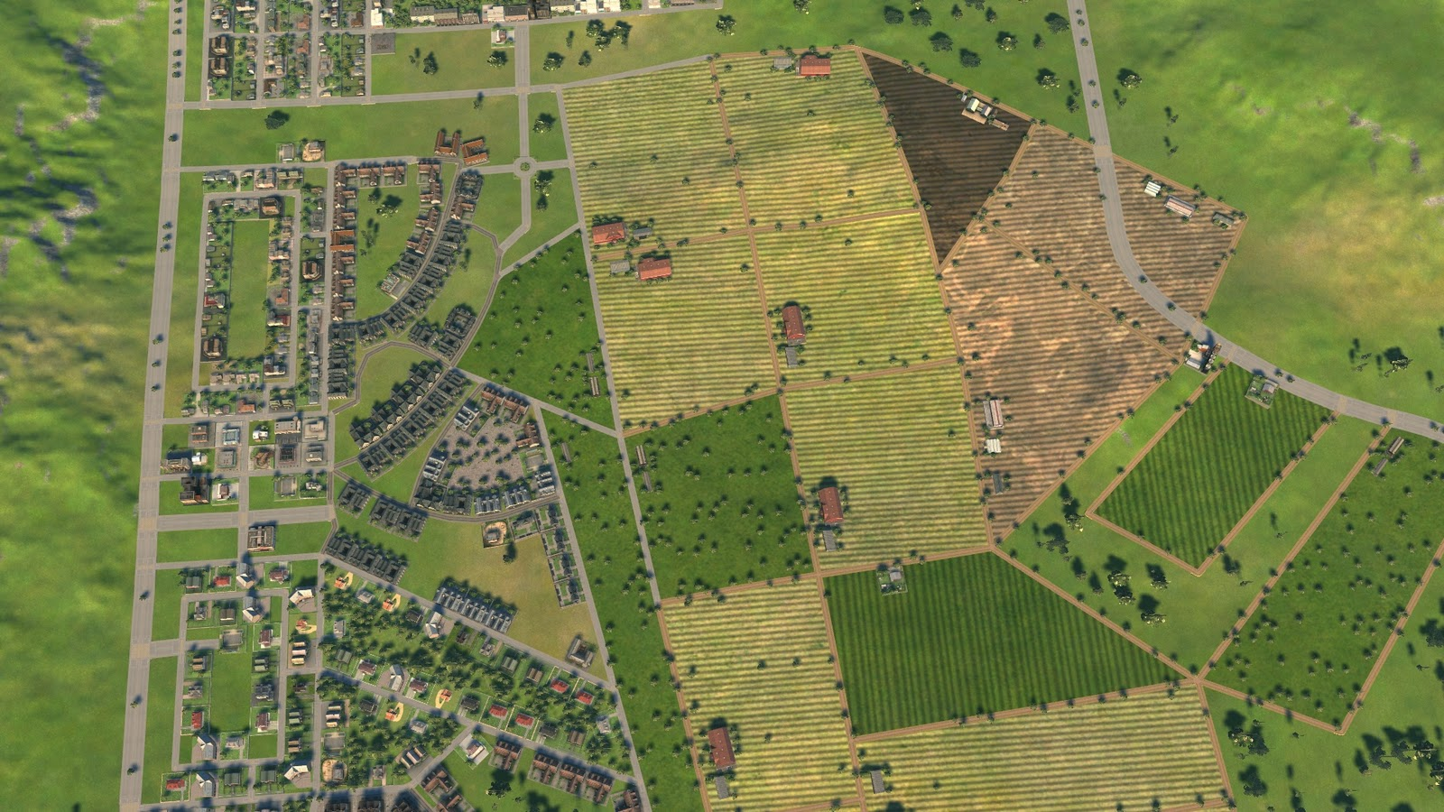 Cities Skylines Maps Small Building Area