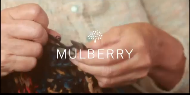 MULBERRY SPINNING A YARN - MULBERRY'S KNITTING GRANNIES